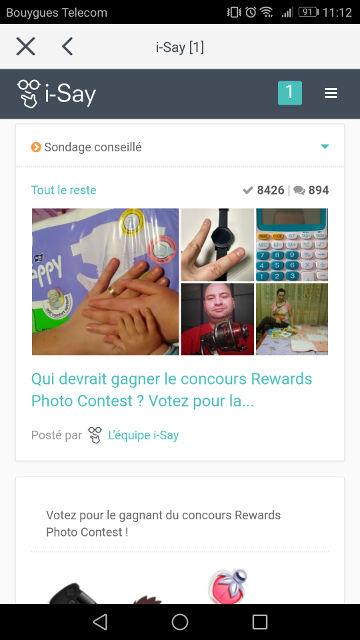 application qui rapporte de l'argent concours photo